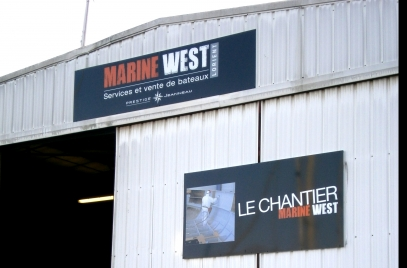 MARINE WEST Lorient : Le Chantier